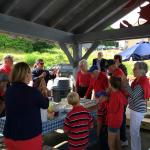 Leslie's 100th birthday party at Quoddy Bay Lobster