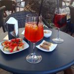 Aperitivo Spritz Pink e Red con stuzzichini!!