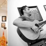 gallery and live music
