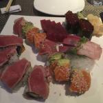 Fantastic sushi plate