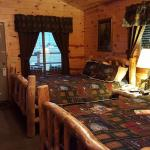 Nicely Furnished Cabins!