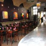 les ouvres et l'environnement du restaurant