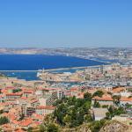 Vue sur Marseille depuis Notre Dame de la Garde