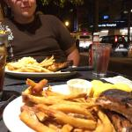 Ribs and people watching
