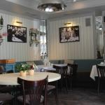 Интерьер кафе Claret, где мы завтракали