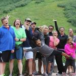 Mustache Fun at the Maroon Bells