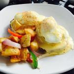 Great food try the crab cake Benedict and the regular Benedict you'll be glad you did! The servi