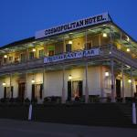Historic Hotel at Twilight