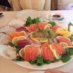 Malay-Chinese restaurant, incredible sashimi!!