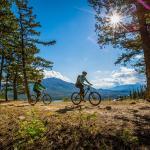 Biking in Jasper National Park