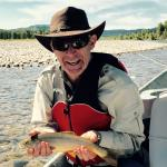 A great cutthroat on the Snake