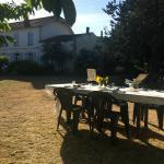 garden for dinner