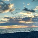 The skies of beautiful Borth!