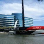 Right next door to the Hyatt House at Oracle Building 5 - Terrific Photo Op!