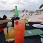 Great rum punch and cocktails!
