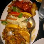 3 Kinds of Chicken Entree - Wow that's a lot of food!