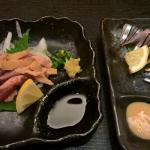 Shochu and some dishes