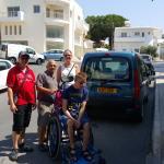 Met Anderas op eiland tour