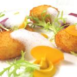 Tucker's Farm Goat Cheese Fritters