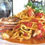Spaghetti with Bermuda Lobster