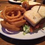 BLT with onion rings