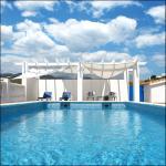 Our spacious swimmingpool