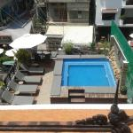 Small pool view from my balcony may 2015