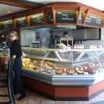 das tolle Buffett zum Aussuchen, im-Lokal-essen oder Mitnehmen