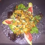 Salad with Chanterelles