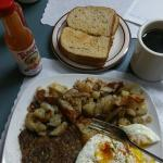 Ribeye breakfast, wonderful!