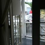 French doors out to porch, room #20