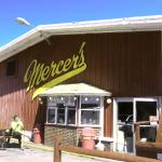 Mercer's Ice cream in Bonneville, NY