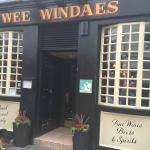 The front of the Wee Windaes