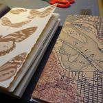 Hand made art journals by Karen Saro