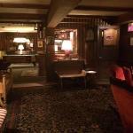 Lounge room in basement