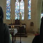 Bonita iglesia y estupendas anfitrionas