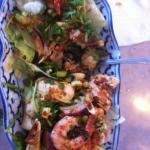 Seafood salad. Yuck