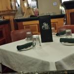 Very nice dining area