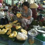Jackfruit on market