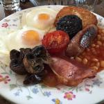 Breakfast at Lowerfield truly sets one up for the day.