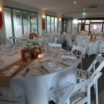 H20 Restaurant & Bar - Wedding Setup