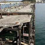 Disused wharf near coal loader