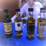 Bohinj Park Eco Hotel - A little irish whiskey tasting before dinner