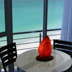 Honeymoon cocktail table inside room