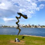 City view from Clarkes Point Reserve