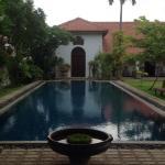 The wonderful pool area