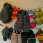 slippers to borrow!
