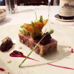 joue de boeuf met foie gras