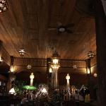Great atmosphere, service and food. Amazing interior wood carving and the lanterns added romanti