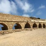Roman Aqueduct,  Caesarea Harbor National Park